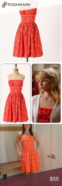 Anthropologie Nostalgic Asteriks dress Size: 8     Anthropologie brand: Girls of Savoy Anthropologie Dresses Mini