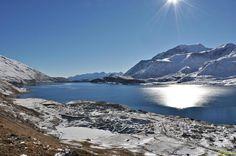 Photo : Lac du Mont-Cenis 14,  Lacs de montagnes, Lanslebourg mont cenis. Toutes les photos de Claude GARNIER sur L'Internaute
