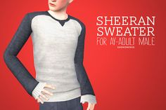 Sheeran Sweater by Shokoninio - Sims 3 Downloads CC Caboodle