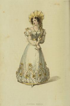 EKDuncan - My Fanciful Muse: Regency Era Fashions - Ackermann's Repository 1827
