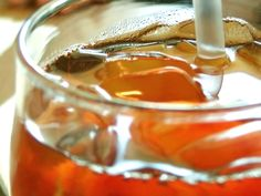 Perfect Sweet Tea. (makes 1 gallon)    Ingredients -  5 - 8 Family size Tea Bags. (or 12 regular Tea Bags)  1 Quart (4 Cups) - Boiling Water  3 Quarts (12 cups) - Cool Water  1 1/2 - 2 (one & a half) - Cups Sugar.  1/4 teaspoon - Baking Soda (this IS the SECRET Ingredient!!)