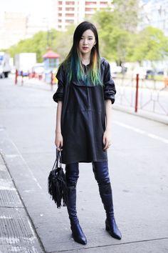 "Model Irene Kim. Photo: <a href=""http://iconosquare.com/ashleyjahncke"">@ashleyjahncke</a>"