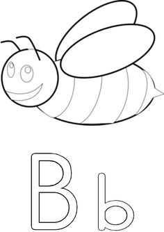B is vir by Grade R Worksheets, Afrikaans, Grade 1, Preschool Activities, Symbols, Letters, Education, Crafts, Google Search