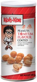 Koh Kae Tom Yum coated Peanuts. Yum yum!