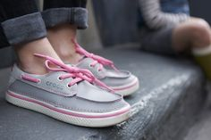 Boat shoes that feel like sneakers: our Kids' Hover Leather Boat Shoe.