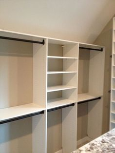 designs for narrow closets with slanted ceilings Google Search