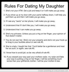 The dating rules revisited