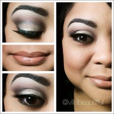 a different natural look #makeup