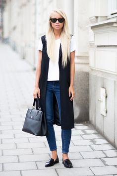 Understated Vest. 極簡背心外套的穿搭術,這個季節最實用!   Popbee - 線上時尚生活雜誌