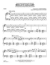 "Bella's Lullaby (from ""Twilight"") - Piano Digital Sheet Music by Carter Burwell 