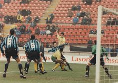 Inter Milan 1 Norwich City 0 (2-0 agg) in Dec 1993 at the San Siro. Norwich attack but Inter held firm in the UEFA Cup 3rd Round, 2nd Leg.