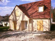 La #maison d'Hicham et Ikram en Seine et Marne - modèle EVASION de la gamme HOME CHRYSALIDE #House #MaisonsPierre #Maison