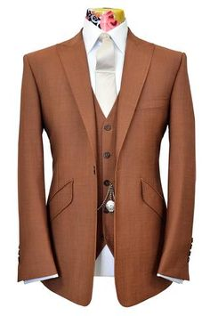 The Ashmore Pecan Sorbet Suit