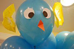 Helium Bird Balloons