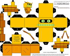 Cubee - Calculon by CyberDrone.deviantart.com on @deviantART