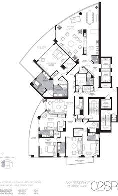 Luxury Beach Home Floor Plans | Miami Luxury Real Estate Miami Beach Luxury Homes Condos