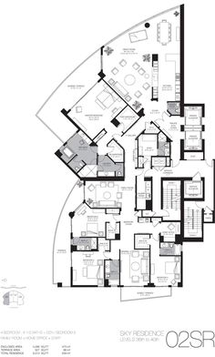 Luxury Beach Home Floor Plans | Miami Luxury Real Estate Miami Beach Luxury Homes Condos