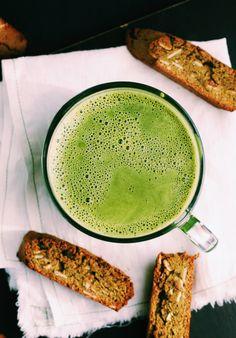 Wellness Encyclopedia: Much Ado About Matcha + Matcha Spelt Biscotti | Free People Blog #freepeople