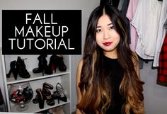 My Fall Makeup Tutorial is now up! Take a peep and tell me what you love about fall <3