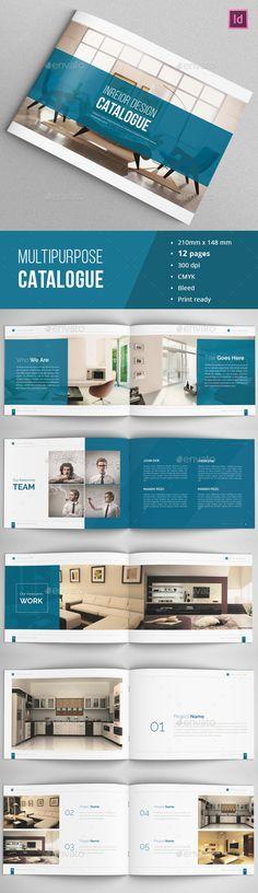 Indesign Portfolio Catalogue