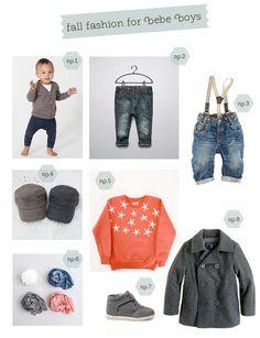 fall fashion for baby boys