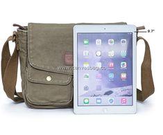 Army Style Canvas Messenger Shoulder Bag (5)