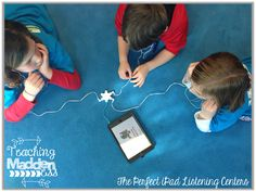 The Perfect Listening Center {with iPads} This post has genius management & storage tips plus some great apps to use! From one of my favorites, Teaching Maddeness blog!