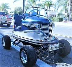 Real '50s Original Bumper Car - Converted to a Street Legal, Drivable Vehicle.