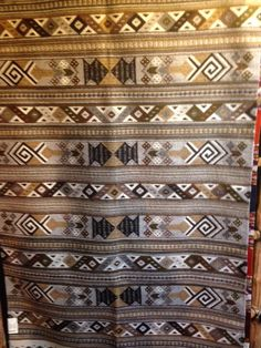Mellow Earth Tones In This Zapotec Hand Woven Rug From Del Sol Mesilla And  Tularosa,