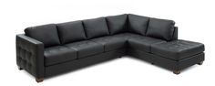 OWN - we have this couch in a leather gray:  Venice Coal