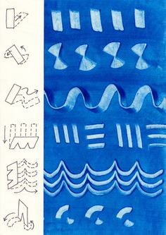 A few suggested ways for using cardboard tools. From Art for Small Hands website. Recipe for art paste. Pattern studies.