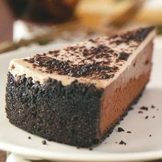 Chocolate Almond Cheesecake Recipe | Taste of Home Recipes