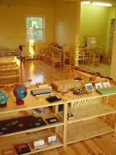 the beauty and simplicity of a montessori classroom