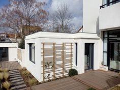 LT07. Maison - Loft et son extension, par AANR