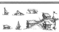 ArtStation - Pencil sketches, Friedemann Allmenroeder