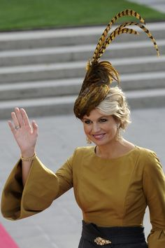 Queen Máxima of the Netherlands (born Máxima Zorreguieta 17 May is the wife of King Willem-Alexander. On 30 April she became the first Dutch queen consort since Queen Of Netherlands, Princess Stephanie, Dutch Queen, Queen Maxima, Royal House, Royal Fashion, Holland, Nassau, Beautiful People