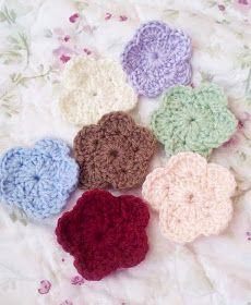 Sadie Ann's Old Soul: Crochet flower tutorial