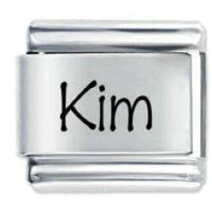 Name Kim Laser Italian Charm,$6.74
