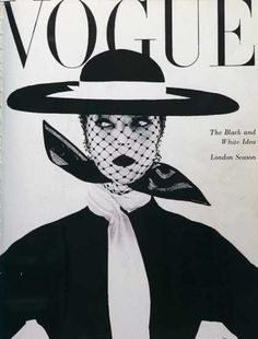 Ring out the Old! You Have to See #These Vintage #Fashion Magazine #Covers ...