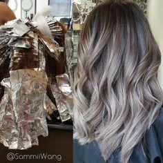Beautiful Silver Ombre
