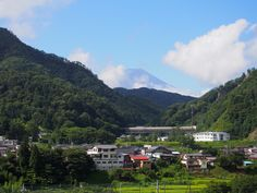 遠景富士山