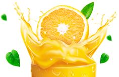 orange juice contains #vitamin C which is good for healing.