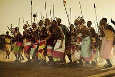 Danza ceremonial Samburu.