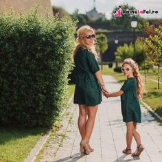 Rochii pentru mama si fiica de ocazie, nunta, botez si ocazii speciale Shirt Dress, Fit, Shirts, Vintage, Dresses, Style, Fashion, Vestidos, Swag