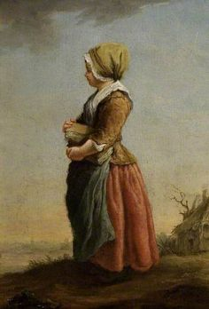 Beggar Girl by Etienne Jeaurat (attributed to) in The Fitzwilliam Museum 			 			 									  													 															 														 												 					  				 											 																					 																														 							Oil on panel, 21.7 x 15.1 cm  						 																		Collection:  																 																The Fitzwilliam Museum