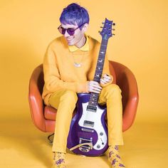 Waterparks — Awsten and Yellow is an aesthetic I can get behind. Ap Magazine, Otto Wood, Waterparks Band, Awsten Knight, Happy Birthday To Us, All Friends, Emo Bands, New Wall, Beautiful Smile