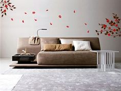 Japanese cherry blossom wall sticker