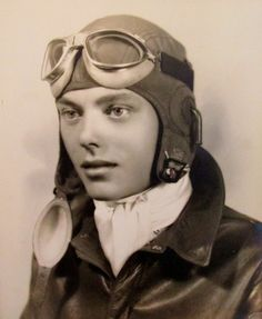 """This is 2nd Lt. George E. French shortly after graduating from flight school in 1942. He was 20-years-old and headed to the 13th Air Force in the Pacific to fly a B-24 """"Liberator"""" bomber. Photo provided"""