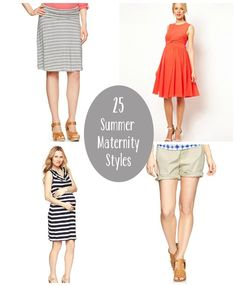 25 Must-Have Summer Maternity Styles