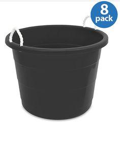 Mainstays Kids 10 Gallon Rope Tub Set Of 6 Purple